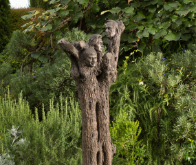 Family Tree Sculpture by Shelly Fireman